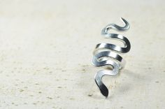 Black Friday..... Silver and Gray by Claudia Casentini on Etsy