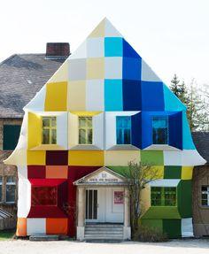 Wow: Werner Aisslinger's Home of the Future   - Adorei! #house #building #casa #arquitetura #design