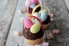 Paasmandjes Cupcakes maken   Cupcakerecepten.nl