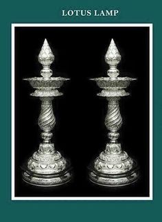Silver Antique Silver, Antique Jewelry, Silver Jewelry, Indian Lamps, Silver Pooja Items, Pillar Design, Silver Lamp, Silver Ornaments, Silver Jewellery Indian