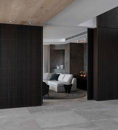 Peninsula House by Hare + Klein Australian Interior Design, Interior Design Awards, Australian Homes, Interior Ideas, Black Cladding, Timber Cladding, Wall Cladding, Condo Living, Apartment Living