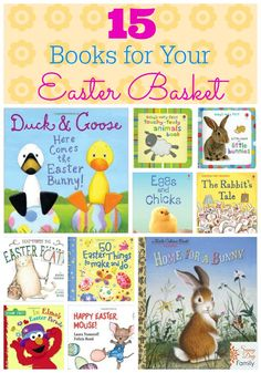 Give your favorite child a book for Easter! Great collection of new and classic titles for babies, toddlers, & preschoolers.