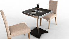Mesas de cafetería multitáctiles. ¿El futuro cercano?