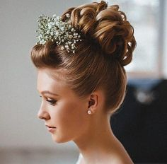 curly+updo+with+pompadour+bangs+for+shorter+hair