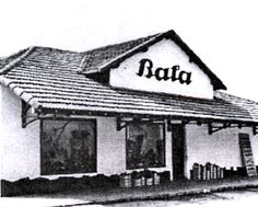 Bata building in Batatuba, Brasil, a city founded in 1940 by Jan Antonin Bata. Bata Shoes, The Past, Cabin, European Countries, History, Czech Republic, House Styles, City, Building