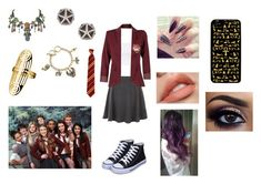 """""""House of Anubis"""" by ocean-goddess ❤ liked on Polyvore featuring New Look, Topshop, ONLY, Sweet Romance, Natures Jewelry, John Brevard, Samsung and Rock Your Hair"""