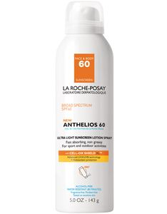 Anthelios SPF 60 Ultra-Light Sunscreen Lotion Spray | La Roche-Posay