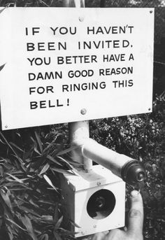 Frank Sinatra's buzzer, 1960s.    .