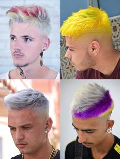 20 Trendiest Layered Haircuts for Men - Men's Hairstyles Teen Boy Hairstyles, Mens Hairstyles Fade, Cool Hairstyles, Undercut Hairstyles, Latest Hairstyles, Hard Part Haircut, Side Part Haircut, Men Hair Color, Cool Hair Color