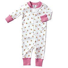 Hanna Andersson Baby Sleeper - Juice Mini Floral Light weight but substantial all organic fabric. Grow with your baby and fit for months!