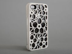 So cool. IPHONE cases by KEES! Skinny Cherry Blossom, Wonderful White