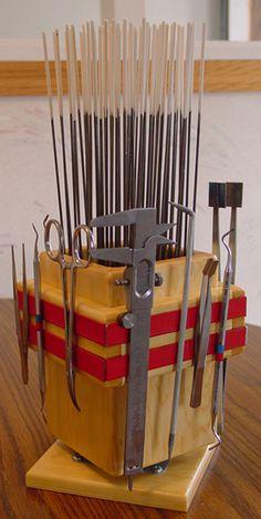 magnetic strips-great idea!