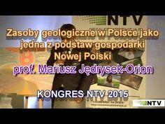 Zasoby geologiczne w Polsce - prof. Mariusz Jędrysek-Orion - 21.10.2015 - YouTube