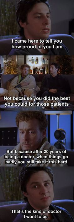 It's simply impossible to dislike scrubs due to the comedy and some serious moments… Fun Pics Tv Show Quotes, Music Quotes, Scrubs Quotes, Scrubs Tv Shows, Dr Cox, Getting Him Back, Make You Cry, Got Him, Best Shows Ever
