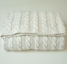 pdf KNITTING PATTERNS baby blanket  by rocketclothinglondon, $5.00