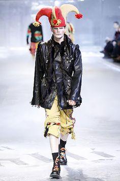John Galliano Fall 2008 Menswear - Collection - Gallery - Look 1 - Style.com
