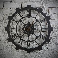 Metal Saat - Hammer   Ev dekorasyonu,tasarım duvar saatleri,metal duvar saati,dekorasyon ürünü,şık tasarım,metal dekor ürünü,ofis dekorasyonu,duvar dekorasyonu,dekorasyon fikirleri,iç dekorasyon,hediyelik ürün,hediyelik eşya,hediye fikirleri www.hoagard.com