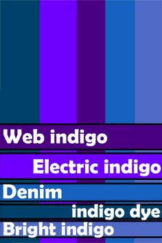 What to Know About Using the Color Indigo in Your Designs