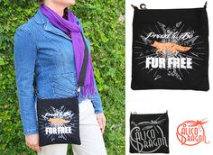 Fox Cross Body Bag – $38.95