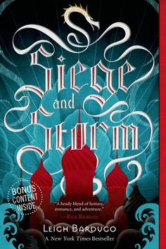 Siege and Storm (The Grisha, #2) I just finished this book and thought it was a great follow up to the first book in the series. It makes me wish I was a Grisha. It's an excellent blend of love troubles, action, fantasy creatures and the ultimate play for power.