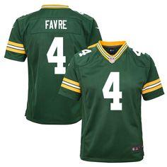 Brett Favre Green Bay Packers Nike Youth Retired Game Jersey - Green - $74.99
