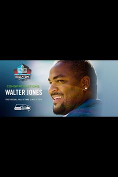 Walter Jones makes it into the Hall of Fame. Go Seahawks! Seahawks Football, Seattle Seahawks, Walter Jones, Football Hall Of Fame, 12th Man, Madness, Congratulations, Sports, Hs Sports