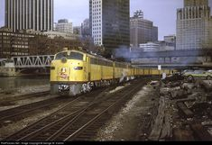 RailPictures.Net Photo: MILW 31A Milwaukee Road EMD E8(A) at Chicago, Illinois by George W. Hamlin