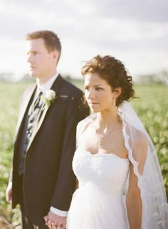 Don't think I'm wearing a veil ... But if I did, it would have lace like this!