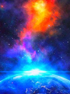 Fall Background Wallpaper, Galaxy Wallpaper Iphone, Night Sky Wallpaper, Fall Wallpaper, Wallpaper Desktop, Wallpaper Quotes, Wallpaper Backgrounds, Dark Galaxy, Galaxy Art
