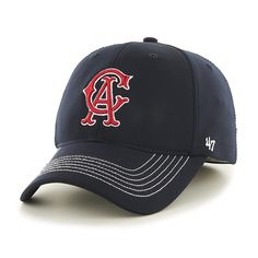 Los Angeles Angels Game Time Closer Navy 47 Brand Stretch Fit Hat