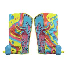 XXPOSED Spongebob Squarepants Rainbow Swirl Edition (SEP2021) #spongebob #xxposed #rainbowswirl #jasonfreeny #gummifetus #spongebobsquarepants #fatsuma #mightyjaxx #nickelodeon #collectible #toy #designertoy #vinyltoy #arttoy #instagood #beautiful #love #art #fashion #new Rainbow Swirl, Vinyl Toys, Designer Toys, Spongebob Squarepants, Toy Sale, Cool Toys, Cool Stuff, Beautiful, Collection