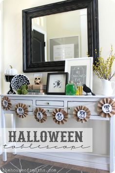 Beautiful Halloween display from House of Smiths