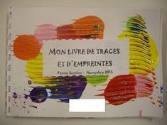 my book traces and Art Education, Petite Section, Lessons For Kids, Art Lessons, Art Montessori, Tracing Art, Ecole Art, National Art, Art Plastique, Art Activities