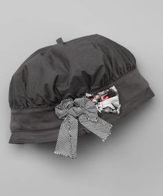 Take a look at this Gris Chuchotte Hat by Eliane et Lena on #zulily today!
