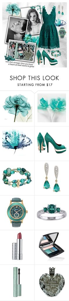 """""""A heart of steel starts to grow"""" by julyralewis ❤ liked on Polyvore featuring JustFab, Napier, Swarovski, Miadora, Clinique, Lancôme and Vera Wang"""