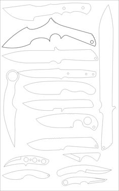 Knife anatomy, parts, components, names; handle material