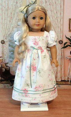 Regency Gown for Caroline by BabiesArtUs on Etsy, $45.00