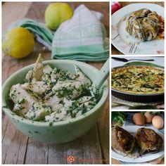 Raccolte di ricette di secondi piatti di carne, pesce o vegetariani.