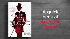 Art in the Blood: A Sherlock Holmes Adventure (designed by Stuart Bache)   #StuartBache #Books #Design