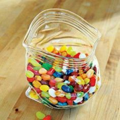 Perfect candy bowl.