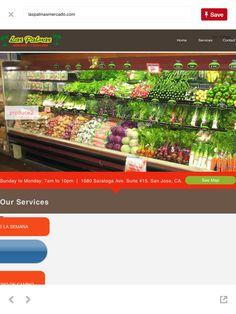 Las Palmas Mercado Y Carniceria 1080 Saratoga Ave., West San Jose. Good selection spices, meats, produce, take out.