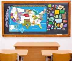 Full Size - PEEL, PLAY & LEARN USA Map