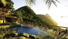 St. Lucia....first wedding anniversary destination!