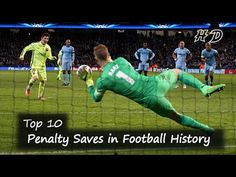 Top 10 Penalty Saves in Football History | Bravo, Petr Cech, Buffon, Oli...