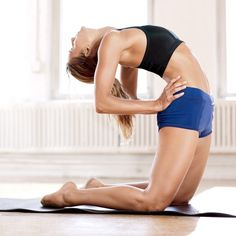 Yoga Poses That Burn Fat: Sculpt a sexier shape with a challenging yoga routine..