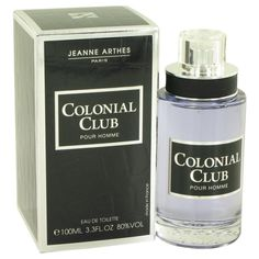 Colonial Club By Jeanne Arthes Eau De Toilette Spray 3.3 Oz