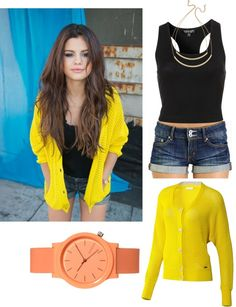 """""""Selena Gomez Outfit Remake #3"""" by hipstergurl01 on Polyvore"""