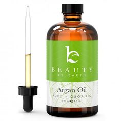 organic argan oil for shiny, frizz-free locks