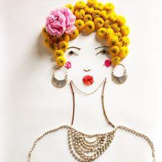 She felt confident, bold and empowered #facethefoliage