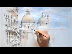 Architectural Watercolor Demo -